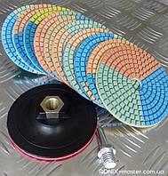 Круг алмазный гибкий (черепашка) D100 зернистость 2000 RONIX master
