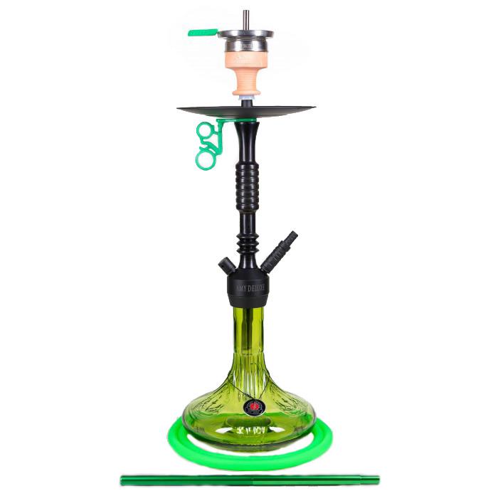 Кальян AMY Deluxe 085.01 Alu Claw высота 80 см на 1 персону зеленый