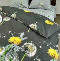 Ткань для постельного белья бязь, Голд Одуванчики