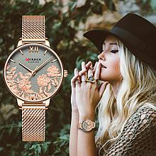 Стильные женские наручные часы  curren 9065