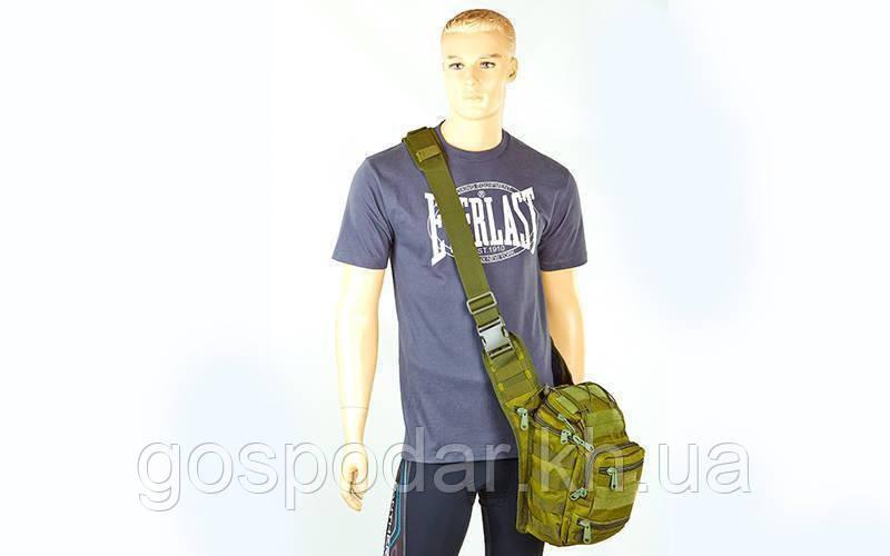 Рюкзак-сумка тактичний штурмової V-20 л olivе (олива)
