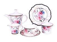 Чайный сервиз Камелия Lefard с десертными тарелками 935-013