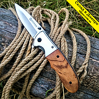 "Нож раскладной ""Boker""205. Флиппер 21см. USA"