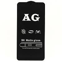 Защитное стекло AG Matte Full Glue для Xiaomi Redmi Note 7 / Note 7 Pro полноэкранное черное матовое