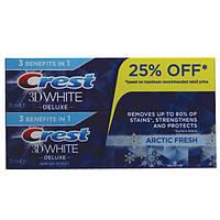Зубная паста отбеливающая Crest 3D White Arctic Fresh, 2 х 75 мл