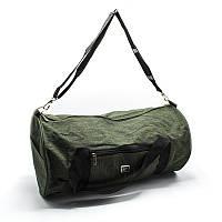 Дорожная и спортивная сумка зеленая