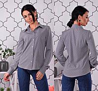 Рубашка женская с принтом, фото 1