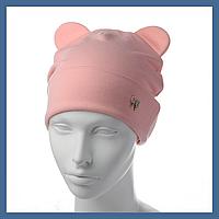 Трикотажная шапка с Ушками, фото 1