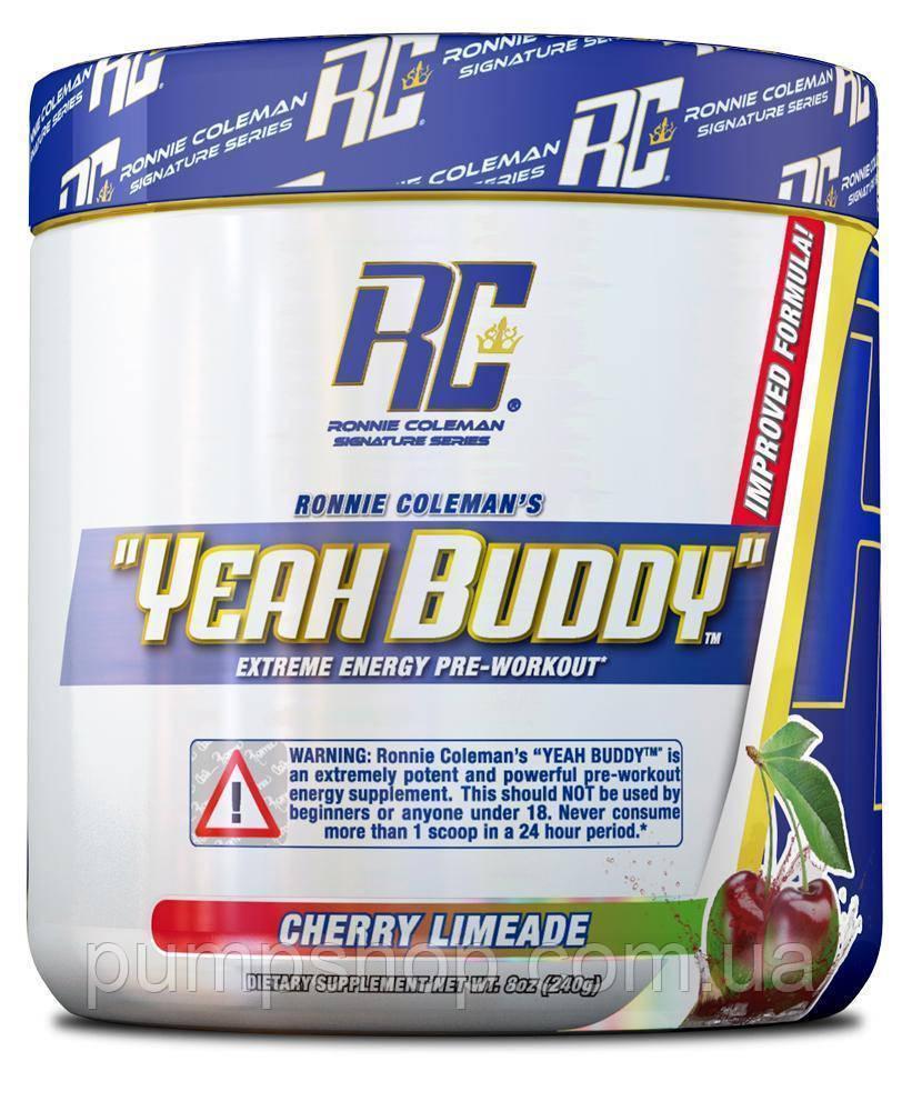Предтренировочнный комплекс Ronnie Coleman Pre-Workout Yeah Buddy 30 порц.