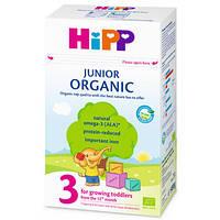 Органическая сухая детская молочная смесь HiPP Organic 3, 500 г