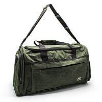 Дорожная и спортивная сумка оливковая