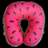 Подушка для шеи Турист Фрукты, полистерольные шарики антистресс 33*37 см / tp - 181102, фото 2