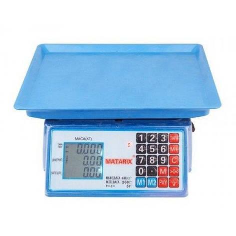 Весы торговые MATARIX MX-412 50кг M, фото 2