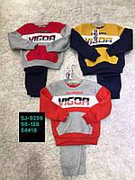 Спортивный утепленный костюм 2 в 1 для мальчика оптом, Active Sport, 98-128 см,  № SJ-9259, фото 1