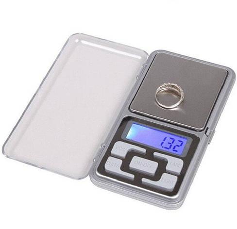 Весы ювелирные MH 200г (MX-461), Весы ювелирные электронные, Карманные весы, Мини весы, Портативные весы, фото 2