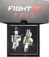 Светодиодная лампа цоколь H4, V9 Fighter, CREE GSP 6500К, 11600 lm 35W, 9-36В ОРИГИНАЛ