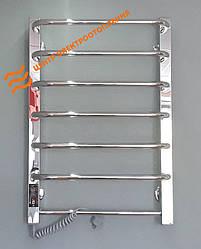 Электрический полотенцесушитель Flyme Classic–7 (терморегулятор + таймер) левый