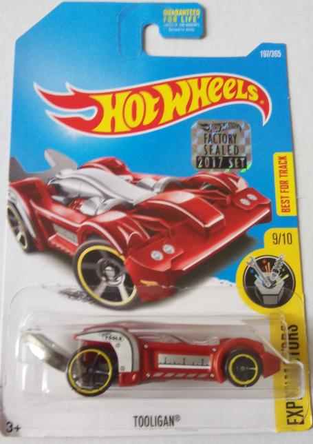 Машинка Hot Wheels 2017 Tooligan