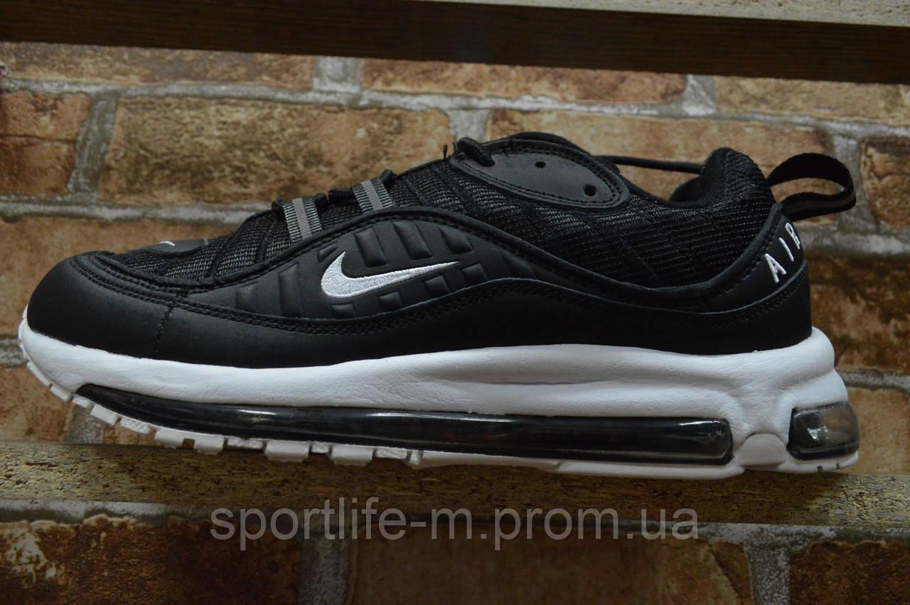 7003-Мужские кроссовки Nike/2019 сетка.чёрный