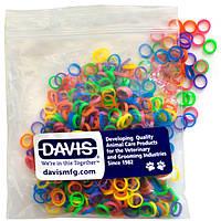 Davis резинки для шерсти неоновые