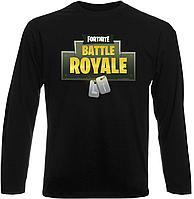 Футболка с длинным рукавом Fortnite Battle Royale Logo (чёрная)