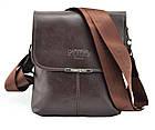 Мужская сумка POLO Videng Mini Dark Brown, фото 2