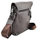 Мужская сумка POLO Videng Mini Dark Brown, фото 4