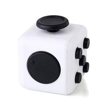 Антистресс игрушка Fidget Cube, бело-черный - Fidget - 873-103-392