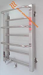 Электрический полотенцесушитель Flyme Mix–7 (терморегулятор + таймер) левый