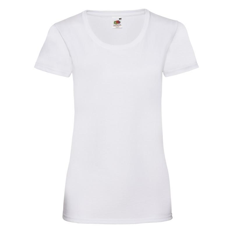 Женская футболка Lady Fit Valueweight T (Цвет: Белый; Размер: 2XL)