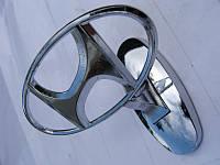 """Эмблема на капот """"Hyundai"""" (прицел)"""