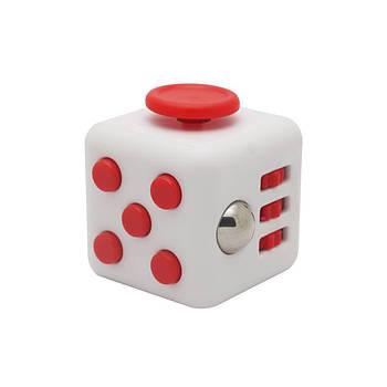 Игрушка Антистресс Plymex Fidget Cube White-Red (004307_4)