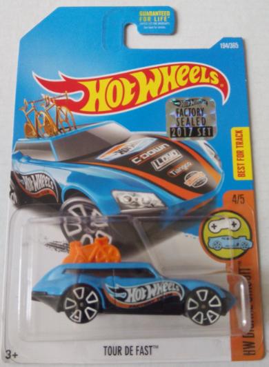 Машинка Hot Wheels 2017 Tour De Fast