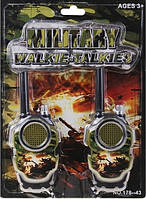 Детские игровые рации Military Walkie Talkie