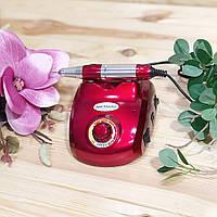 Апарат для манікюру Nail Master ZS-603 (45 Вт, 35000 оборотів) червоний, фото 1