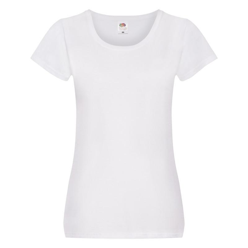 Женская футболка Lady Fit Original T (Цвет: Белый; Размер: 2XL)