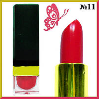 Красная Помада - Бальзам для Губ Увлажняющая Смягчающая Тон 11 Макияж Губ