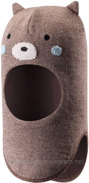 Зимняя шапка-шлем для мальчиков Lassie by Reima Mysi 718775-1371. Размеры 46 - 54.