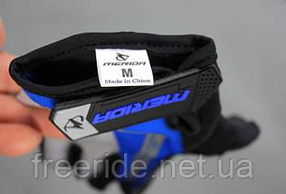 Велоперчатки беспалые Mandater RX Glove (синие) L, фото 2