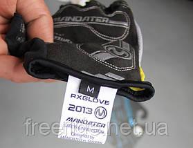 Велоперчатки беспалые Mandater RX Glove (синие) L, фото 3