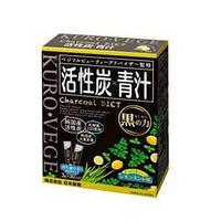 Аодзиру - Активированный уголь,зеленый сок, бифидобактерии.  Япония 30 стиков