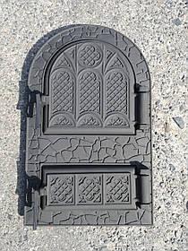 Чугунная дверца для печи, грубы 102905, печная дверка
