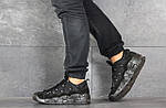 Мужские кроссовки Nike Air More Money (черные), фото 2