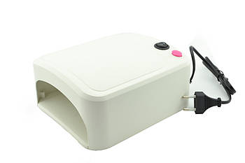 УФ лампа для ногтей 36Вт сушилка для ногтей с таймером ZH-818A бежевый