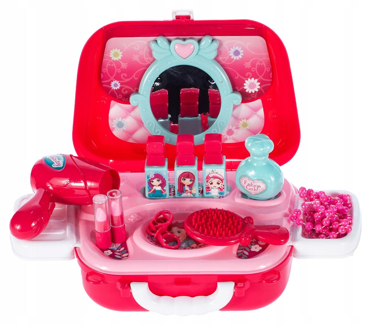 Набор детской декоративной косметики для девочек в виде сумочки муляж Beauty Set