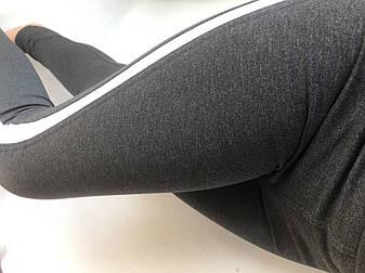 Спортивные леггинсы женские № 54 серые, фото 2
