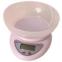 Весы кухонные Domotec ACS-126 с чашей