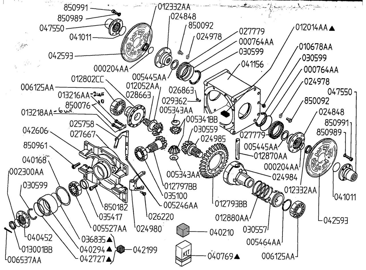 005341ВВ MERLO сателлиты дифференциала (переднего Заднего моста)