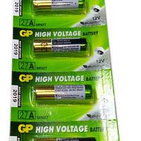 Батарейка GP А27 Alkaline 12V, фото 1