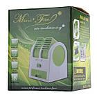 Мини-кондиционер вентилятор Mini Fan UKC HB-168 Pink, фото 4
